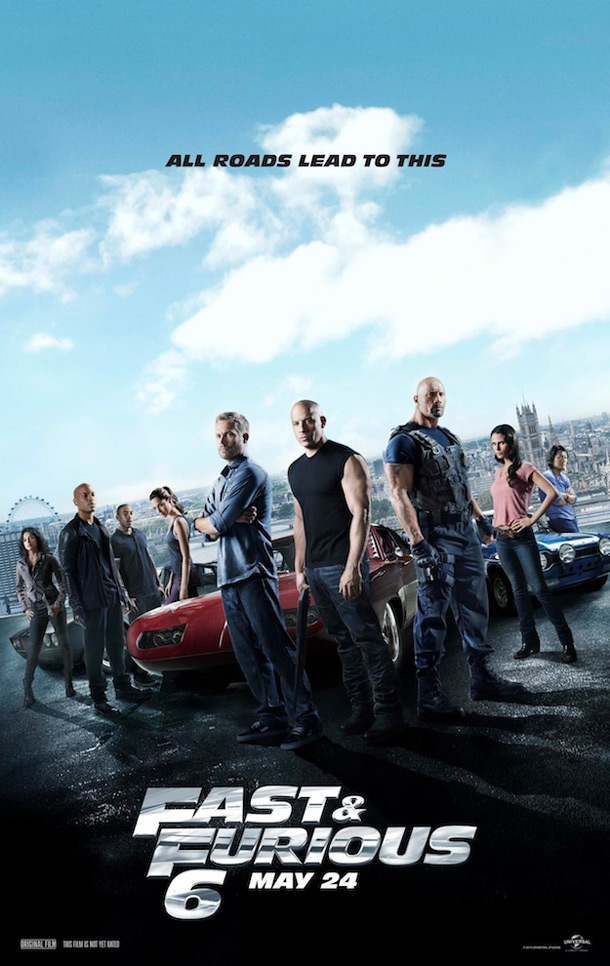 Fast & Furious 6 ***