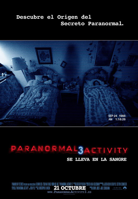 Paranormal Activity 3 ***
