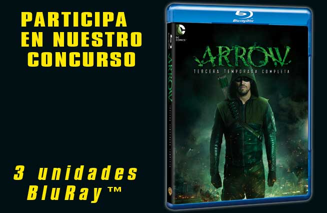 Concurso ARROW 3ª temporada en Blu-Ray™