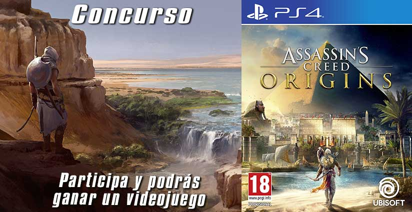 Concurso: Assassin's Creed Origins