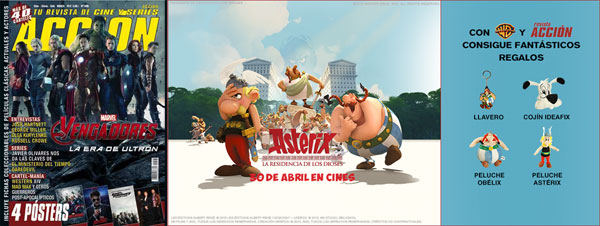 warner asterix