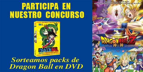 Concurso DRAGON BALL Z: BATTLE OF GODS