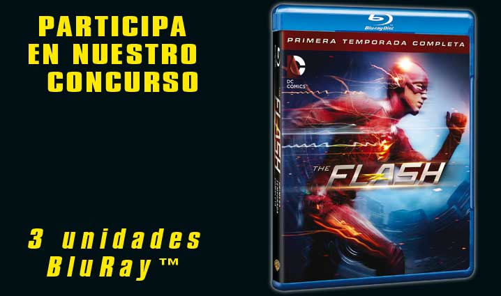 Concurso THE FLASH 1ª temporada en Blu-Ray™
