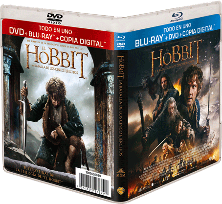 Concurso EL HOBBIT. LA BATALLA DE LOS CINCO EJÉRCITOS en Blu-ray™+DVD+Copia Digital