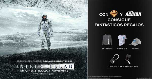 Concurso Merchandising INTERSTELLAR