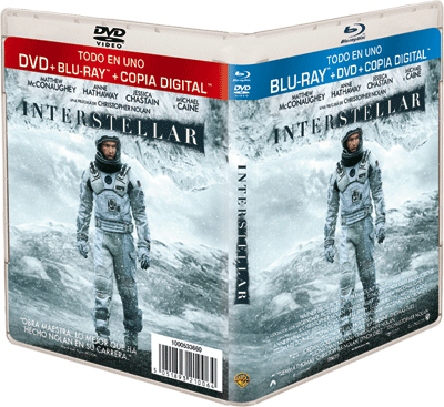 Concurso INTERSTELLAR en Blu-ray™ + DVD + Copia Digital