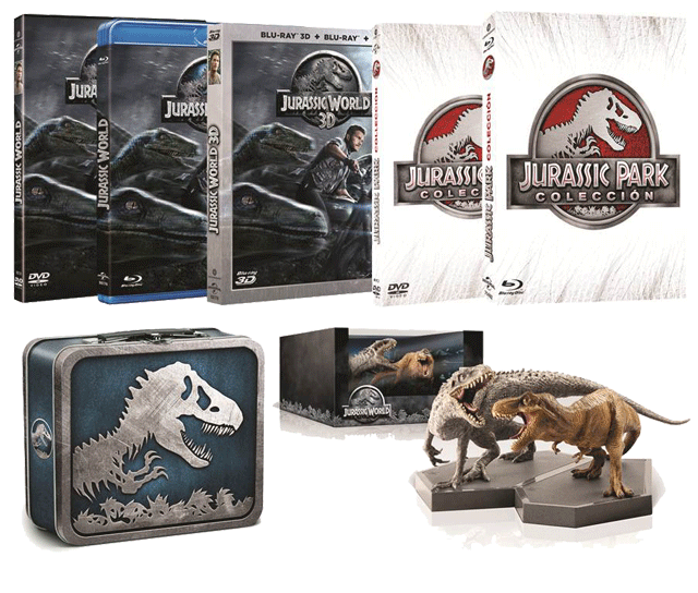 Concurso JURASSIC WORLD DVD + Videojuego XBox One