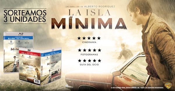 Concurso LA ISLA MINIMA Blu-ray™ + DVD + Copia Digital