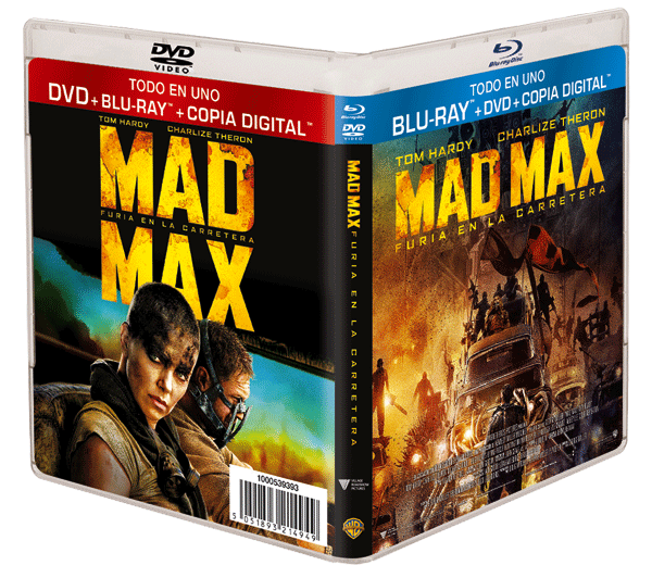 Concurso MAD MAX: FURIA EN LA CARRETERA en Blu-ray™ + DVD + Copia Digital