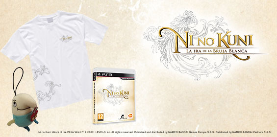 Concurso Ni No Kuni: Wrath of the White Witch para PS3