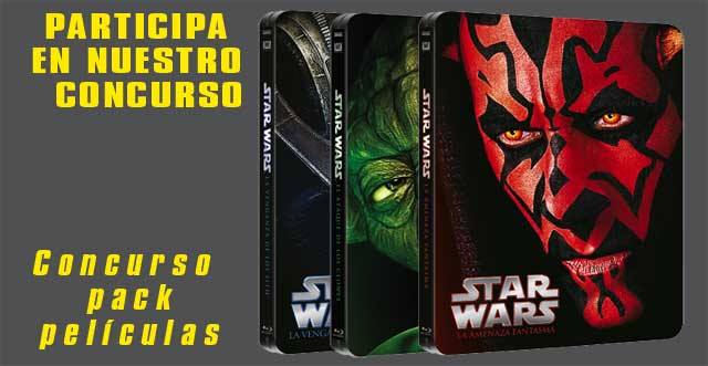 Concurso STAR WARS Ep. I-II-III en Bluray
