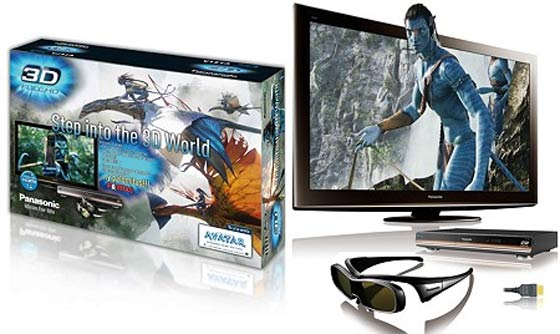 Avatar y Alicia en Bluray 3D solo si tienes una determinada tele...