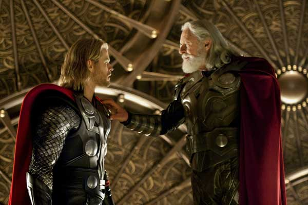 Entrevistas Thor: Anthony Hopkins, Josh Dallas y Kat Dennings