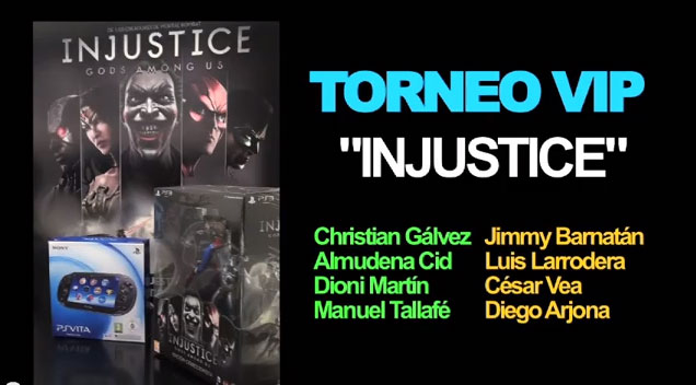 Injustice: Gods Among Us - Torneos
