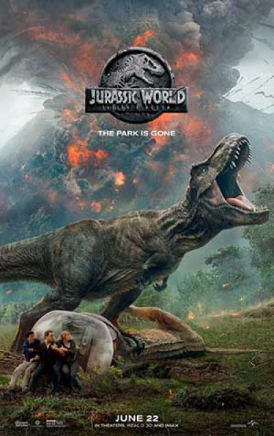 Jurassic World: Fallen Kingdom  ★★★★