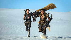 Nueva foto de Milla Jovovich en Monster Hunter