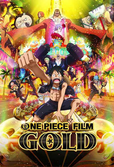 ONE PIECE GOLD Clip exclusivo