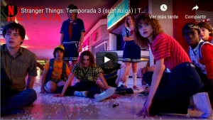 Stranger Things temporada 3 presenta su tráiler